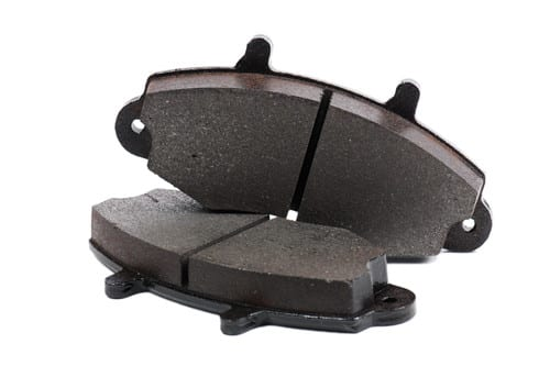 A picture of brake pads