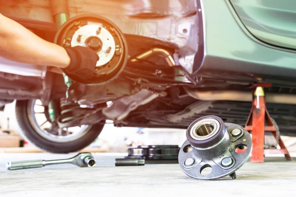 bad drivers side wheel bearing